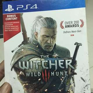 The Witcher 3 ( PS4 )