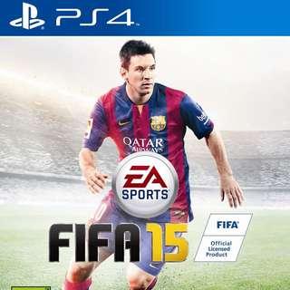 FIFA 15 ( PS4 )