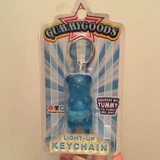 Gummy Bear Light Up Keychain