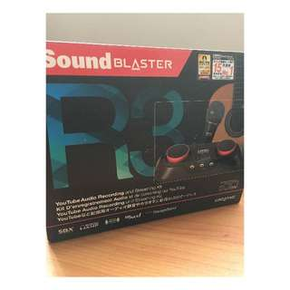 Sound Blaster ( for Guitar, Youtube REcording)