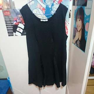 OB嚴選㊣黑色洋裝3L