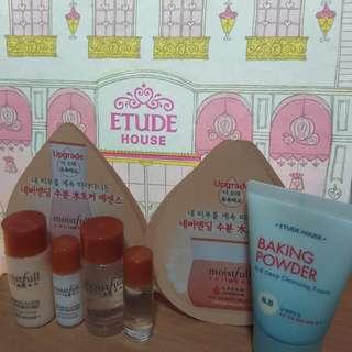 Etude House 水足感系列+蘇打粉洗面乳