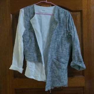 正韓❤️不規則剪裁設計外套