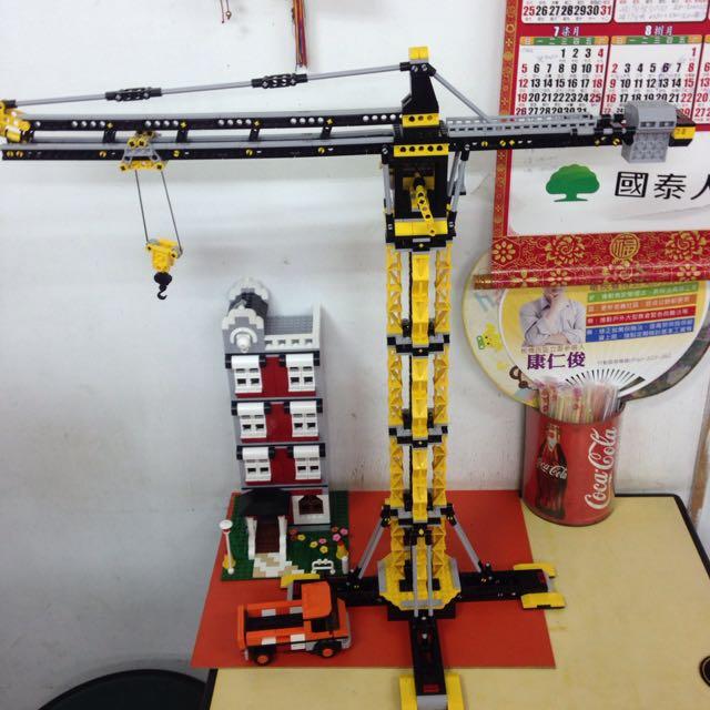 積木(塔式吊車)