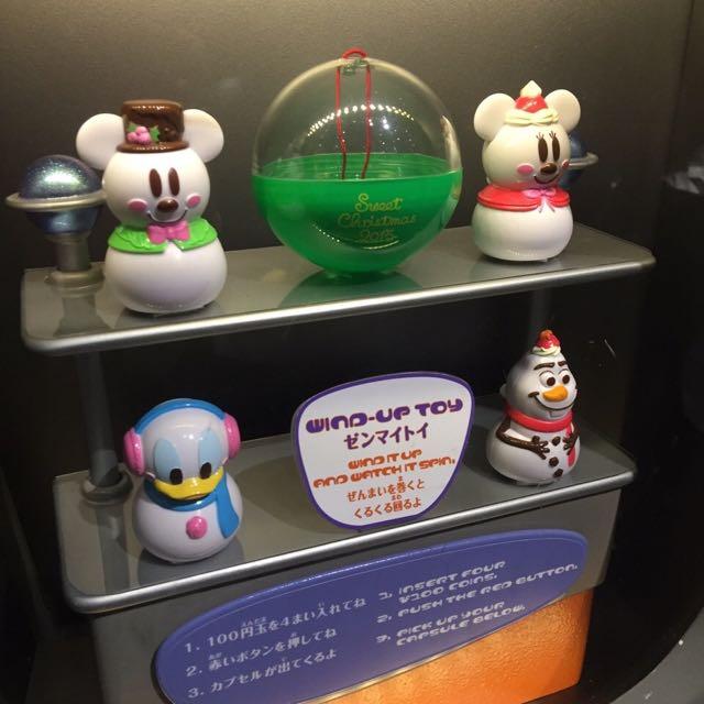 東京迪士尼 園區扭蛋 聖誕節限定