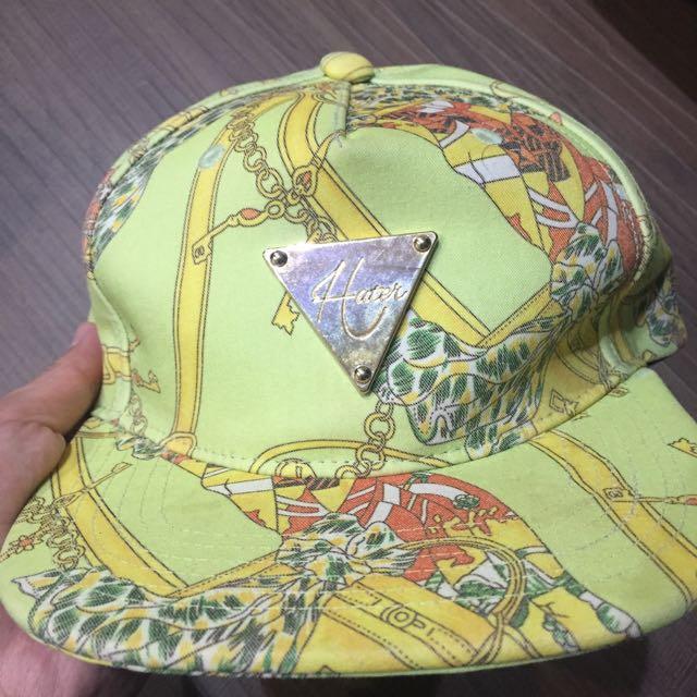 帽子 鎖鏈 綠色 hater 棒球帽 鴨舌