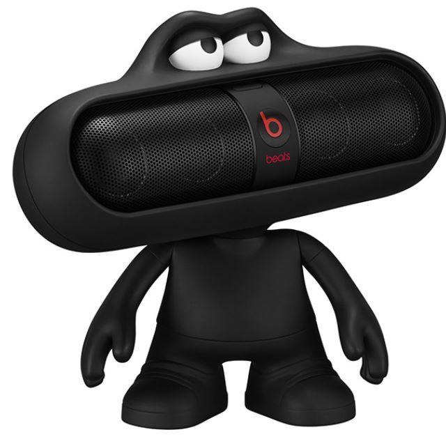 全新未拆封 Beats New Pill2.0 無線藍牙喇叭(黑色) 附娃娃支架
