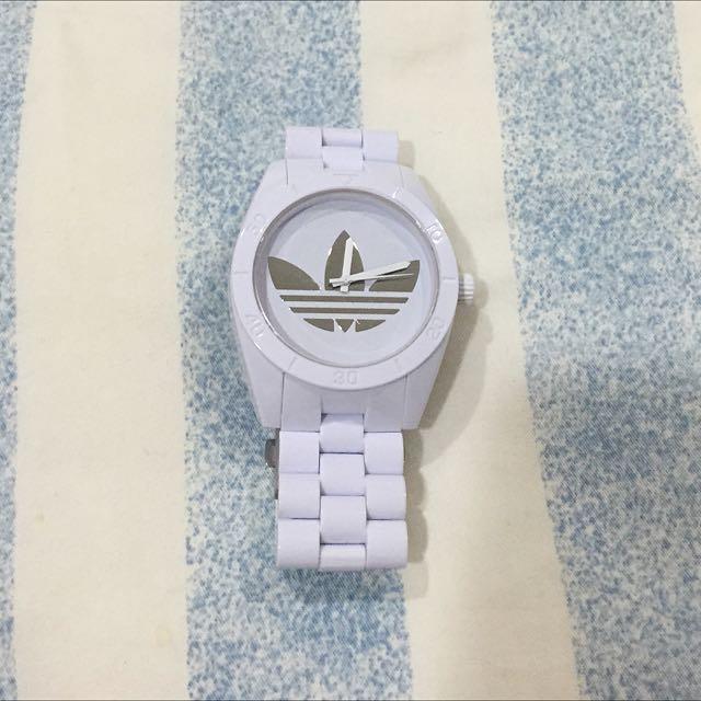 Adidas🍁正版白色手錶(待付款)