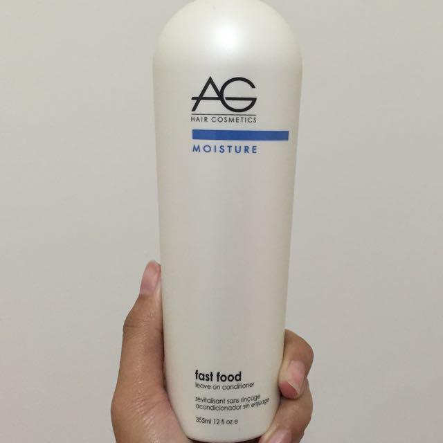 AG免沖洗式護髮