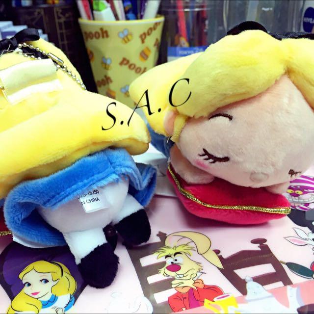 日本Disney Store 愛麗絲夢遊仙境TSUM TSUM 吊飾