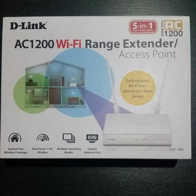 D-Link Wireless Access Point AC1200