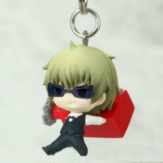 abca31ea32ab Sold Durarara!! Chibi Mascot PVC strap Heiwajima Shizuo ...