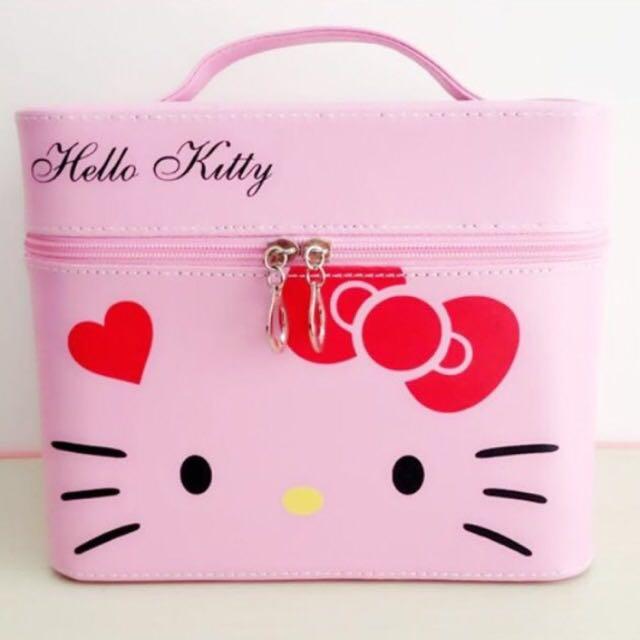 Hellow Kitty質感化妝箱