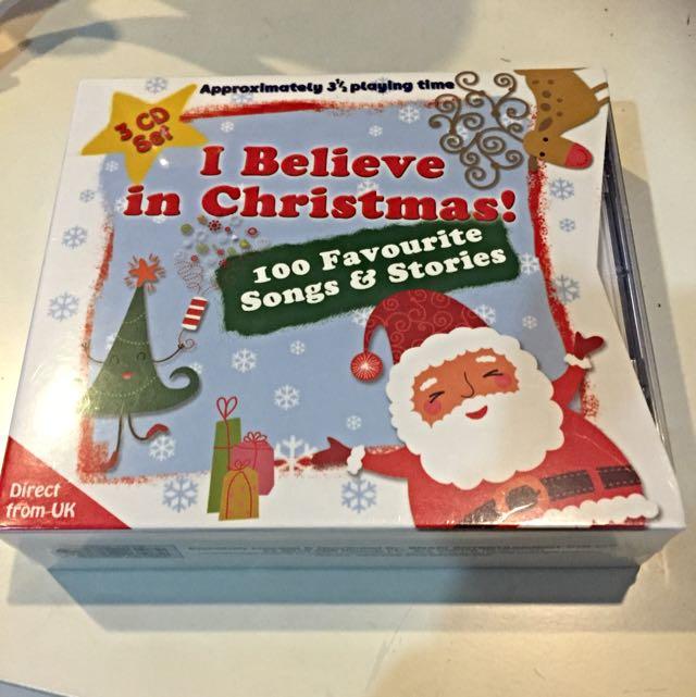 I Believe In Christmas.I Believe In Christmas 100 Favourite Songs Stories