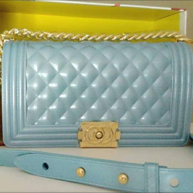 8ddaa64ca7c0 Jelly Toyboy (I'm Not Chanel Bag), Luxury, Bags & Wallets on Carousell