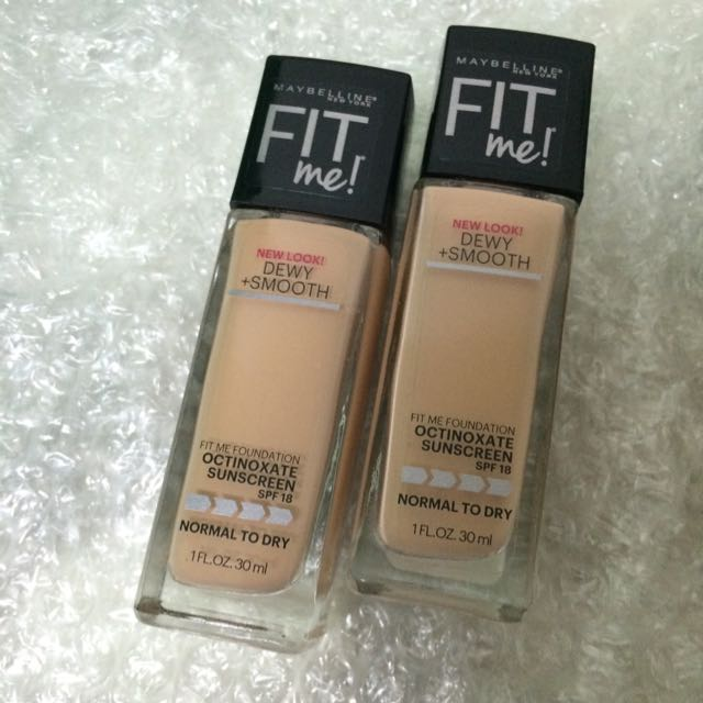 美版Maybelline Fit Me粉底液
