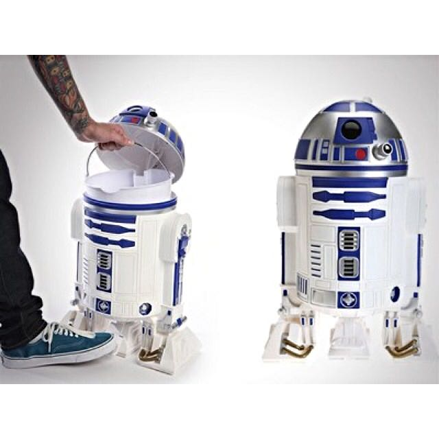 R2d2 Star Wars Trash Can Dustbin Beer Bucket Everything