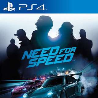 PS4 Need For Speed (Code Unredeemed)