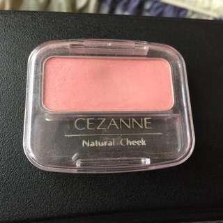 賣場滿200送 Cezanne腮紅 色號03