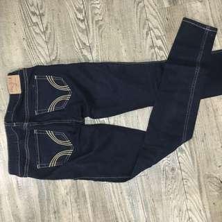 Hollister 窄管 牛仔褲