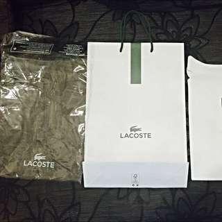 Lacoste Authentic Paper Bag Plastic