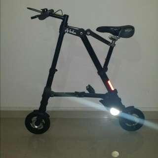 A-bike Folding bicycle