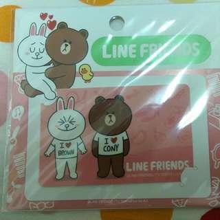 Line卡片貼