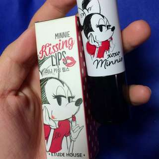 Etude House Minnie 限定版米妮唇膏 1號色經典紅