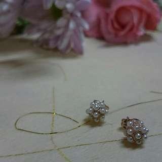 韓國珍珠耳環