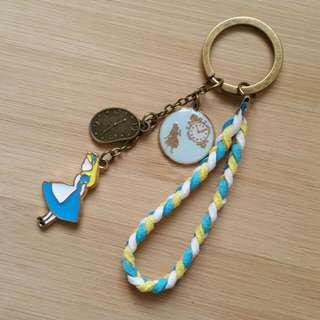 手作 愛麗絲 鑰匙圈 吊飾