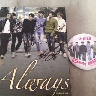 U-Kiss Always (Autographed by all members)