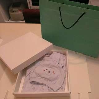 彌月禮盒-Porsence純棉寶寶裝