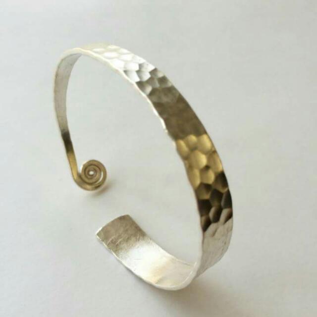 手工製※純銀手環