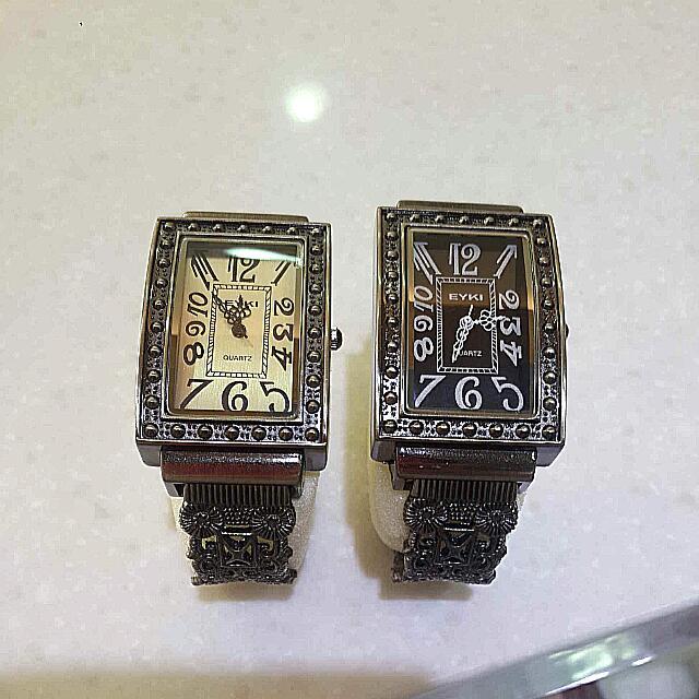 (全新)復古風時尚腕錶