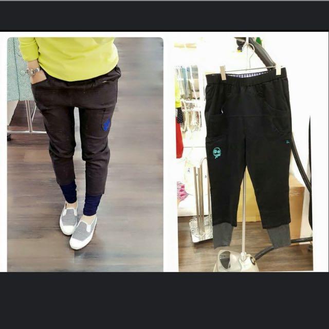 全新 a la sha 黑色長褲 ,尺寸m