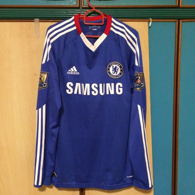 982912e467d Authentic Chelsea 10/11 Home Kit Longsleeve Fernando Torres 9 EPL ...
