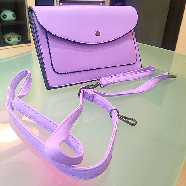 Brand new purple bag