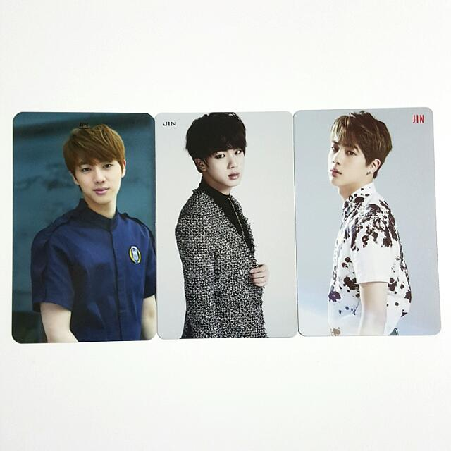 bts jin wake up orul82 for you photocard 1450188627 b870297d