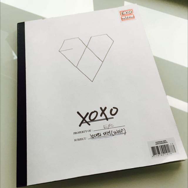 EXO xoxo專輯