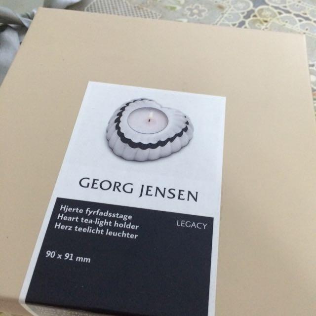 GEORG JENSEN LEFACY 心型燭台