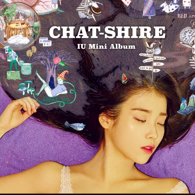 IU «CHAT-SHORE» 第四張迷你專輯