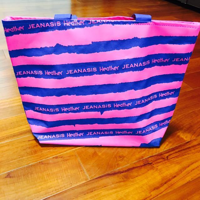 (全新)日系品牌JEANASIS & Heather帆布托特袋(含運)
