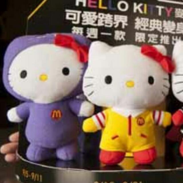 麥當勞經典kitty娃娃