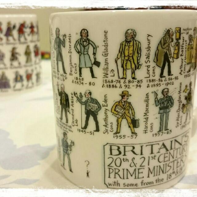 [英國買回] Prime Minister珍藏繪製馬克杯