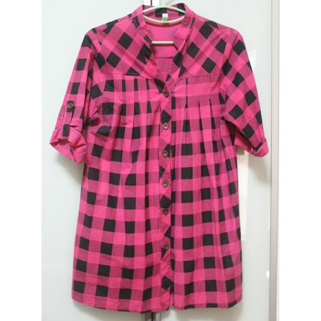 Shirt Dress Flannel