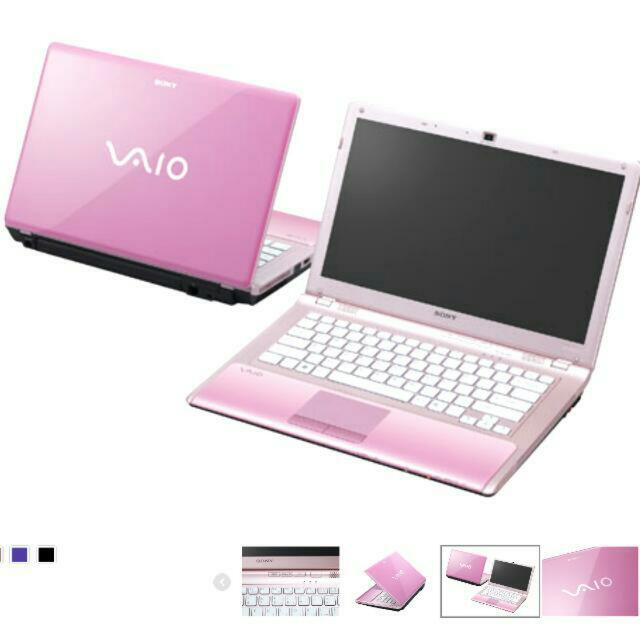 Sony Vaio Gaming Laptop Pink Electronics On Carousell