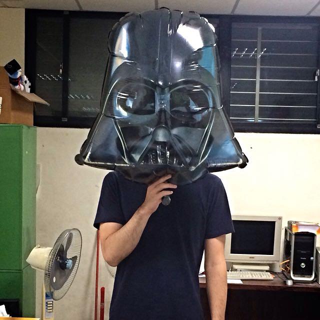 STAR Wars 黑武士造型氣球