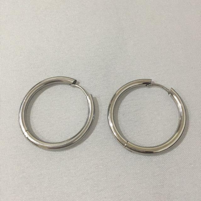 VII 歐美圓圈耳環