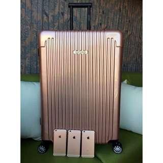 空姐團購行李箱玫瑰金26吋