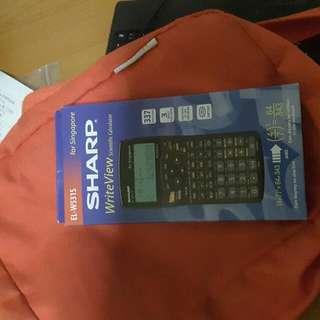 Brand New Sharp Calculator EL-WS531S